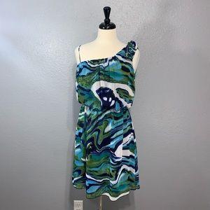 Valerie Bertinelli | Rosette One Shoulder Dress 6